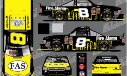 FIRE ALARM SERVICES, INC. TO PARTNER WITH NEMCO MOTORSPORTS FOR THE NASCAR CAMPING WORLD TRUCK SERIES CHASE